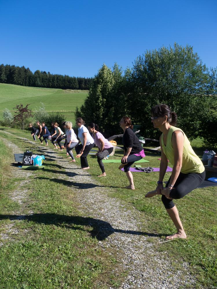Yoga mit allen Sinnen