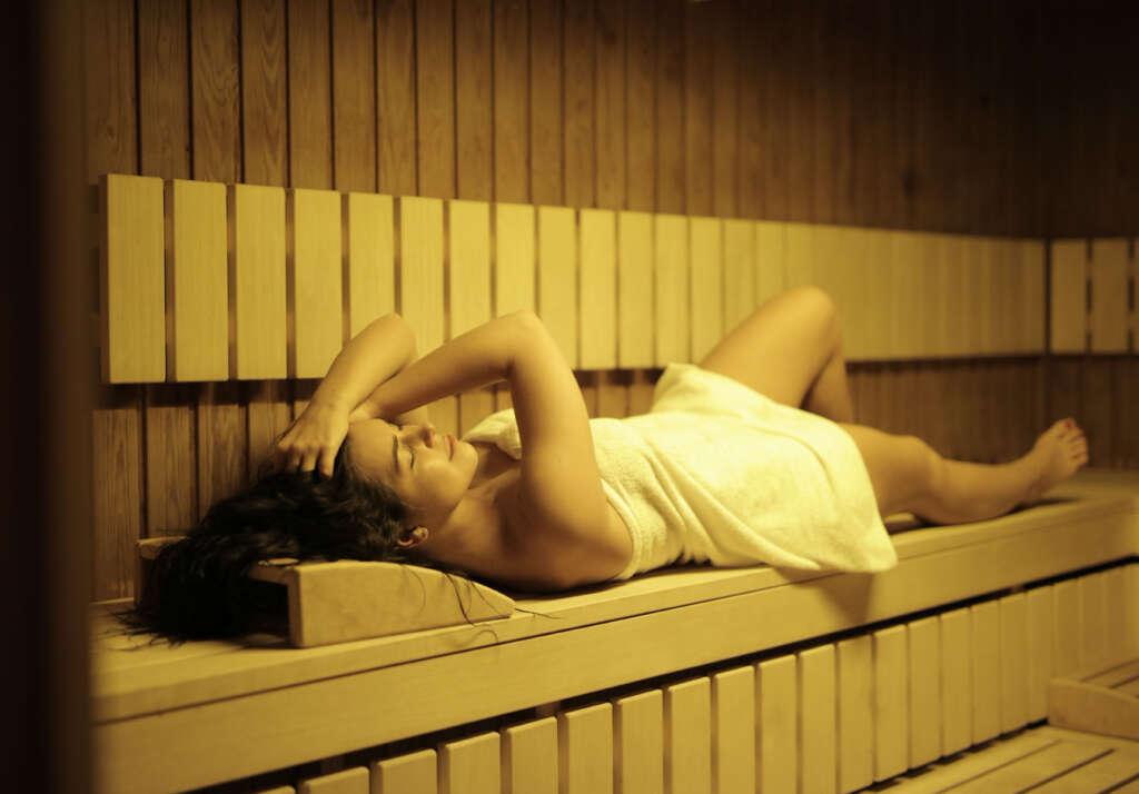 Sauna Wärme